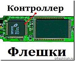Определение модели контроллера флешки