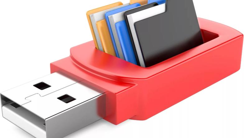 Как удалить файлы с флешки